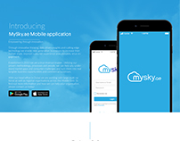 MySky.ae Mobile application
