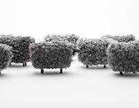 "Iconic Gotland sheep ornament ""Marte"""