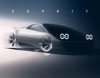 Lotus Esprit 2020 Sketch