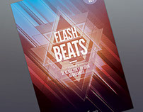 Flash Beats Flyer