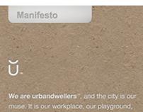 Brand Manifesto for urbandwellers