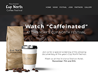 "Article for Cup North Coffee Festival ""Caffeinated"""