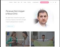 Website development for Dotctor genicologist