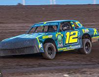 Blaine Durward #12D MelloYello IMCA Stock Car