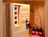 Coca-Cola Cardboard Showcase