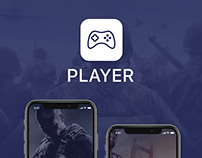 Player IOS & Android Mobile app