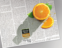 Minute Maid Pulpy Orange 2011 & 2012