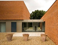 Brick House. Alex Franklin For James Gorst Architects.