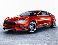 Ford Evos 2013 - Full CGI