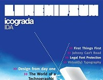 Icograda IDA Magazine project