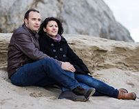Engagement pre-wedding session, Castelldefels, Spain