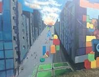 Spray Can Murals