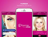 Flormar Make-Up (Concept) App Design