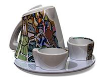 """Gaudy"" - Tea Set Concept"