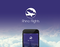 Rhino Flights- App for frequent business travelers