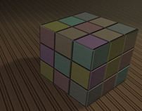 Rubix Cube | 3d Render