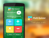 Math Quizzer Project