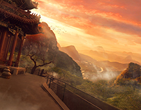 speed matte painting