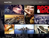 Mantra, WordPress Portfolio Metro Theme