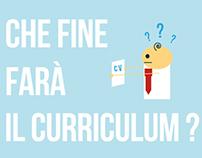 Che fine farà il curriculum?  Infographic