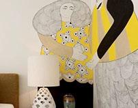 Illustration for a room //RAR imobiliária