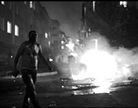 Rioting in Gazi, Istanbul