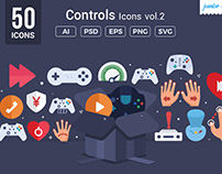 Gaming / Controls Vector Icons V2
