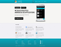 Talk & Share Mobile app site