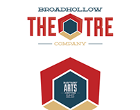 Broadhollow Theatre Identity System