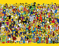The Simpsons Poster and Style Guide