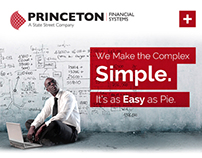 Princeton Financial Systems Responsive Website