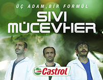 Castrol Edge Professional Launch Event Poster