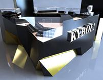 KYBOE! Complex KIOSK Design - Dubai Mall