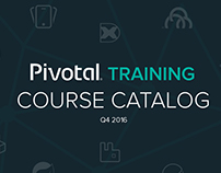 Pivotal Customer Facing Course Catalog