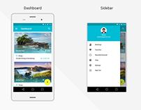 Tour Mobile App Design