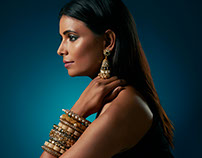 Jewellery Campaign - Preeti Mohan