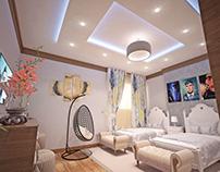 Mr.Faisal apartment Design