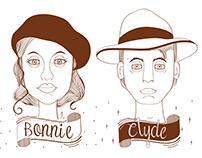 Bonnie & Clyde Box