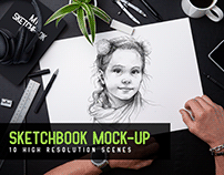Sketchbook Mock-up