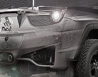 Ferrari Dakar Rally Concept 2020