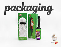 Packaging Rodillo Quitapelusas