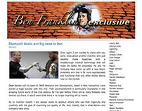 Bluetooth Bionic Arm blog ghostwriting