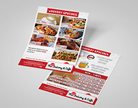 The new Bakery and Cafe Flyer Design