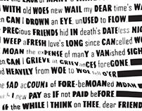 130XXX — Typography Posters