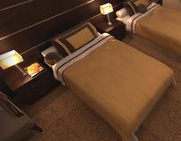 HOTEL BEDROOM - MAKKAH - SAUDI ARABIA