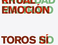 VIVAN LOS TOROS poster