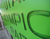 Utah Olympic Park Signage