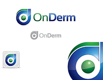 OnDerm Logo design