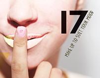 17 Make-up rebrand