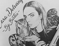 Cara Delevingne & owls